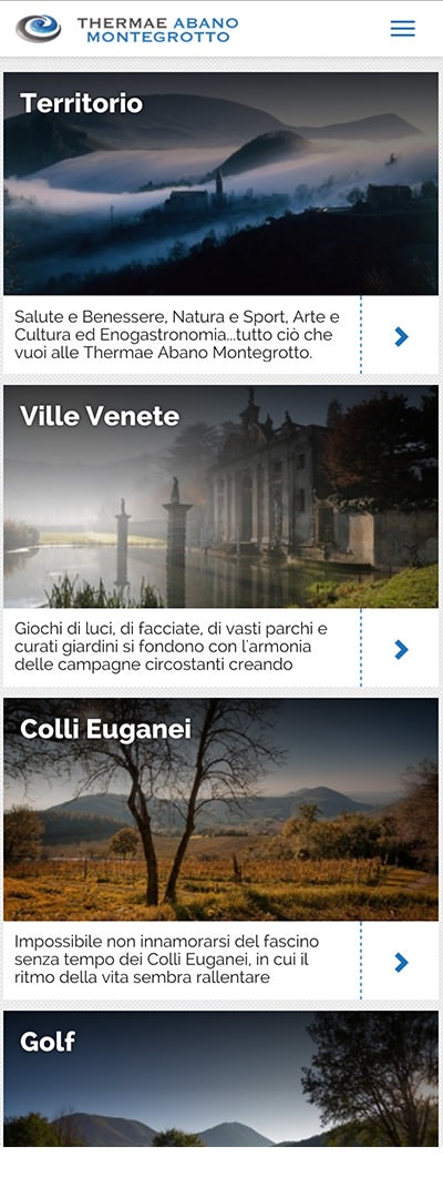 Thermae Abano Montegrotto mobile website