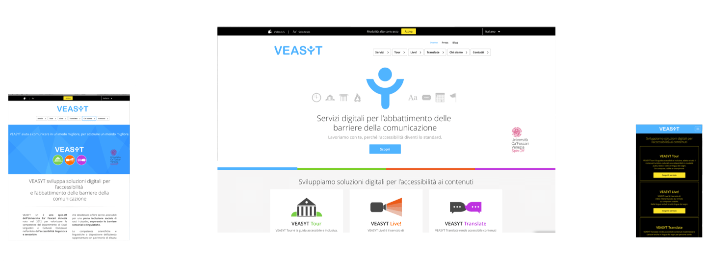 veasyt responsive website